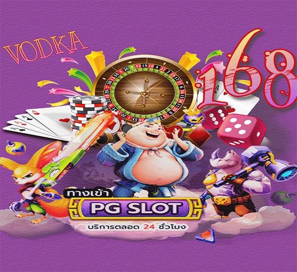 Vodka168 web slot & new game