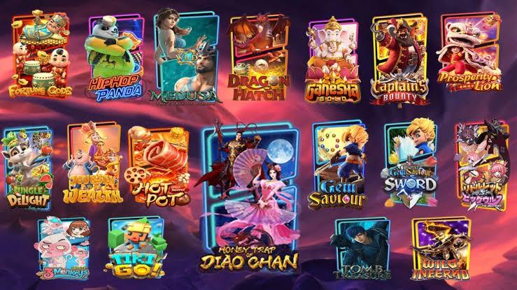 slot online pg menu game
